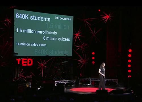 Daphne Koller lors de la Conférence TED - Juin 2012